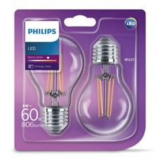 Philips LED-lamp 60 watt 2 stuks
