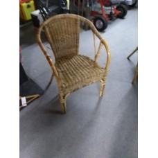 Rotan stoel eenvoudig