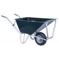 Stal kruiwagen groen Basic 160 L