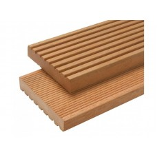 Plank hardhout geprofileerd 28 x 145