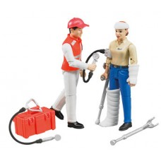 Ambulance figuren set 1:16